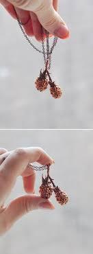 copper branch jewelry tree