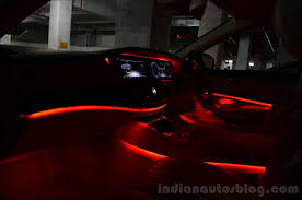 2014 mercedes s class review ambient light red car mood lighting