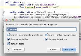 Top <b>20</b> Refactoring Features in IntelliJ IDEA - DZone Agile