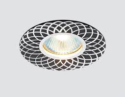 Встраиваемый <b>светильник Ambrella light</b> A815BK/AL