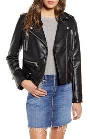 <b>Levi's</b>® <b>Faux Leather</b> Moto Jacket | Nordstrom