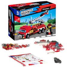 "<b>Конструктор Bondibon</b> ""<b>Пожарная</b> Служба. Пожарная машина ..."