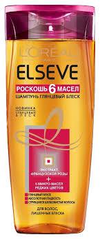 L'oreal <b>шампунь для волос глянцевый</b> блеск роскошь 6 масел ...
