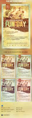 fun day event flyer template by godserv graphicriver fun day event flyer template events flyers