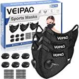 kungfuren 2 Sets Sports <b>Cycling</b> Masks with <b>Activated Carbon</b> Filter