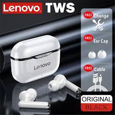 <b>Lenovo</b> LP1 <b>TWS</b> טביעת אצבע מגע Bluetooth אוזניות אלחוטי אמיתי HD ...