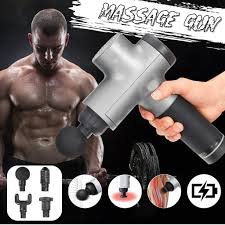 Fascia <b>Gun Muscle Relaxation Massager</b> Gym High Frequency ...