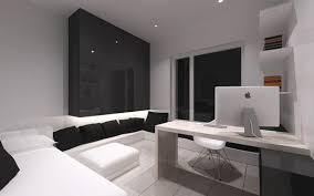 apartment cozy bedroom design: cozy bedroom design black accents minimalist apartment in poland