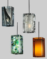 lighting pendants are made of fused and art glass art glass pendant lighting