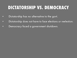 democracy vs dictatorship what do you prefer essay presentation software that inspires haiku deck