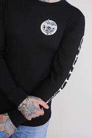 <b>Лонгслив CROOKS &</b> CASTLES Mighty Medusa L/S Tee Black ...
