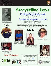 storytelling festival george washington carver national poster for the storytelling days at the park