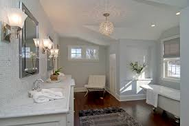 sea gull lighting bathroom contemporary with barcelona chair faucet black and gray bathroom lighting chandelier