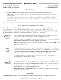 claims department manager supervisor resume   claims department    claims department manager supervisor resume