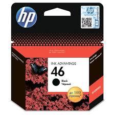 <b>Картридж HP</b> для струйного принтера HP <b>46</b> Black Ink CZ637AE