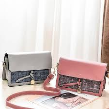 <b>2019</b> Brand <b>New</b> Leather Women's Bags Slant <b>Fashion</b> Single ...