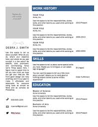 resume templates free download layout download word download best    resume format     best