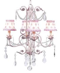 chic pink chandelier with petal pink and white shades chic pink chandelier pink