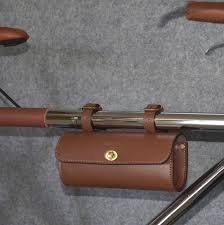 <b>CHOOSE Classic Bicycle Bag</b> Artificial Leather Retro Bicycle Saddle ...