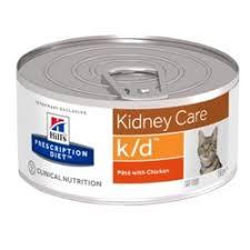 <b>Влажный диетический корм</b> для кошек <b>Hill's</b> Prescription Diet k/d ...