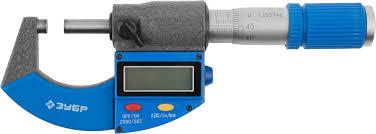 Гладкий <b>цифровой микрометр</b>, <b>МКЦ</b> 25, диапазон 0-25мм, шаг ...