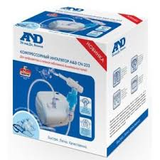 <b>Ингалятор</b> компрессорный (небулайзер) A&D Medical <b>CN</b>-<b>233</b> ...