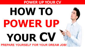 how to power up your cv curriculum vitae get a job fast prepare how to power up your cv curriculum vitae get a job fast prepare yourself for a dream job