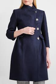 Купить <b>пальто</b> женское <b>BGN</b> S18K322 синее 40-L, цены в Москве ...