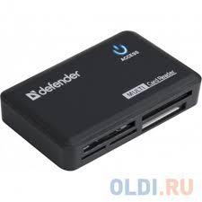 <b>Картридер Defender OPTIMUS</b> USB 2.0 Black — купить по лучшей ...
