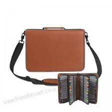 <b>160 Hole Folding PU</b> Leather School Pencils Case Large Capacity ...