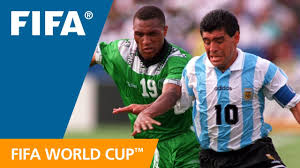 World Cup Highlights: Argentina - <b>Nigeria</b>, USA 1994 - YouTube