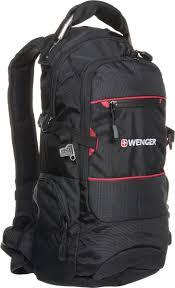 """<b>Рюкзак Wenger</b> """"<b>Narrow Hiking</b> Pack"""", цвет: черный, красный, 46 х ..."""