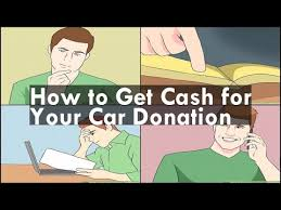 How to Get Cash for Your Car Donation - YouTube