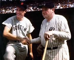 17 best images about take me out to the ballgame other sports ted williams and babe ruth