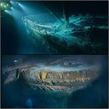 「1985, the titanic discovered in north atlantic ocean」の画像検索結果