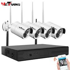 <b>Wetrans Security Camera System</b> 8CH 1080P NVR Video ...