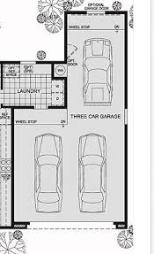 tandem garage three car workshopoffice rotate back cars and enlarge breezeway garage office