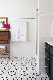 white bathroom floor:  ideas about hexagon tile bathroom on pinterest hexagon tiles tiled bathrooms and bathroom flooring
