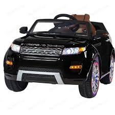 <b>Электромобиль Hollicy Range</b> Rover Luxury Black 12V - SX118-S ...