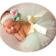 Newborn Girl Photography Outfits - Baby Photo Props ... - Amazon.com