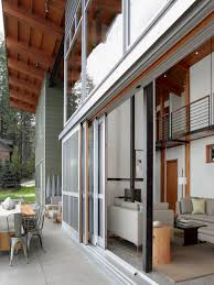 large sliding patio doors: furniture sliding exterior full glass doors for large modern house design with high ceiling and patio