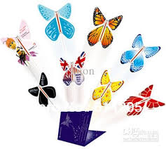<b>Magic surprising flying butterfly</b> especially suit card or wedding ...