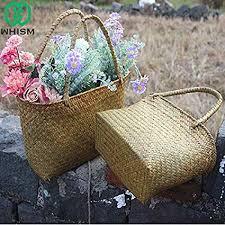 Chamomile. HOT - Storage Baskets - Seagrass ... - Amazon.com
