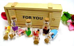 DECORATIVE BUCKETS:7pcs Message in a Bottle ... - Amazon.com