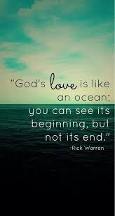 God's Love is infinitive...More at http://quote-cp.tumblr.com ... via Relatably.com