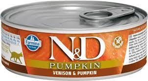 <b>Консервы Farmina N&D</b> Pumpkin Cat <b>Adult</b> беззерновой для ...