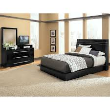 dimora 5 piece queen panel bedroom set with media dresser black by factory outlet black bedroom furniture collection
