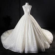 Best Ivory <b>Handmade</b> Beading Wedding Dresses <b>2019</b> A-Line ...