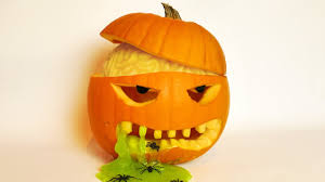 <b>Halloween Pumpkin</b> Carving <b>Idea</b> with Brain and Slime! - YouTube
