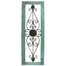 metal wall decor shop hobby: turquoise framed metal wall decor shop hobby lobby